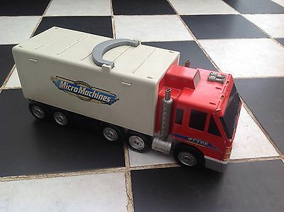 Original Micro Machines Otto's Trucking Transforming City Playset GALOOB 1998