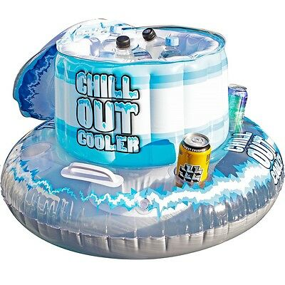 Airtime Inflatable Chill Out Cooler Beach Pool Toy Garden Swim Summer Fun Kids