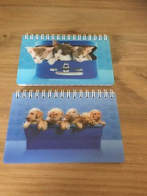 Puppies & Kittens 3D Note Pads