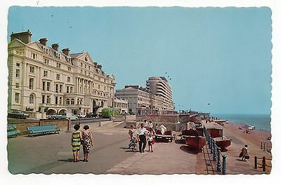 Vintage Postcard Royal Victoria Hotel, St Leonards on Sea - Coloured