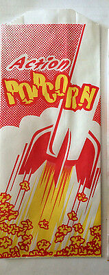 Popcorn Paper Bags Sacks 1 Ounce Concession Carnival Ballparks 500 ea