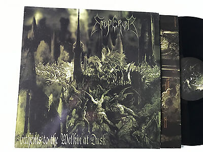 LP 1997 Emperor - Anthems To The Welkin At Dusk  first press Black Metal