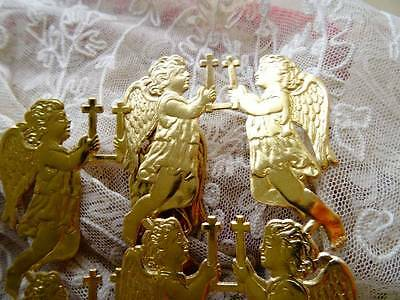 48 Antique French Christmas Angels From Perigueux