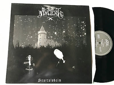 LP 1995  Ancient  ‎– Svartalvheim  first press Black Metal