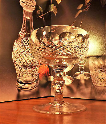 Waterford Crystal Colleen Saucer Champagne Glasses 4 1/2""