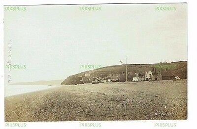 Old Postcard Torcross Seafront Devon W R Gay's Real Photo Vintage 1910-20
