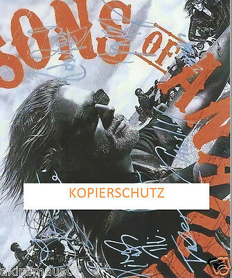 Sons Of Anarchy Mega Cooles Autogramm Cast - Charlie Hunnam & Co