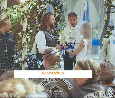 Sons Of Anarchy Tolles Autogramm Ryan Hurst / Opie #2