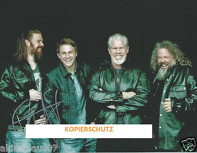 Sons Of Anarchy Tolles Autogramm Ryan Hurst / Opie