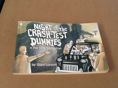 Night of the Crash-Test Dummies by Gary Larson - 1990- Good Condition