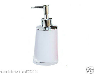 New Acrylic White Manual Control Hand Sanitizer Machine Soap Dispenser &$