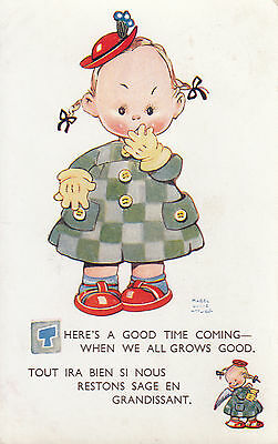 MABEL LUCIE ATTWELL  THERE'S A GOOD TIME COMING pu 1947
