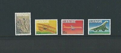 Surinam 1978 UMM 75th Anniv of 1st Powered Flight sg 942/5