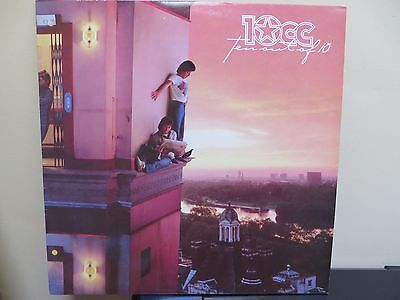 10cc TEN OUT OF 10 ~ EX VINYL LP + LYRIC INNER ERIC STEWART, GRAHAM GOULDMAN