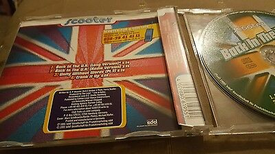 Scooter back in the uk cd single