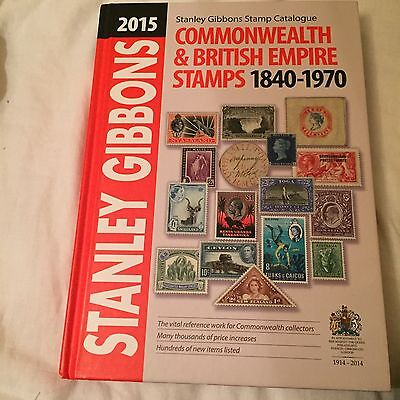 Stanley Gibbons 2015 Commonwealth And British Empire Catalogue