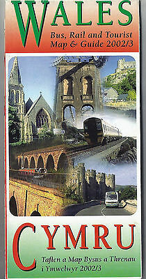 All Wales Bus and Rail Map & Guide - 2002/03