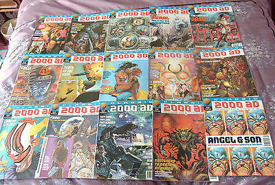 Comic 2000Ad Classic Complete Set In Mint Condition