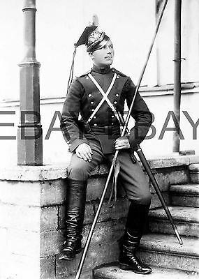 c1900 Imperial Russian Cavalry Garde Uhlan Photograph