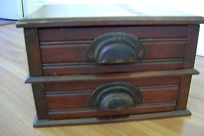 Antique 2 Drawer Cabinet