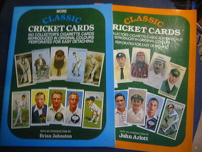 Classic Cricket Cards And More Classic Cricket Cards 2 X Booklets Classic Cards
