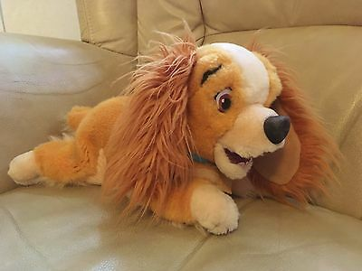 Official Lady and the Tramp Disney Store Lady Beanie Soft Toy