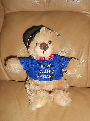 Official Bure Valley Railway Norfork Souvenir Teddy Bear