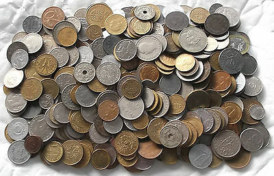 WORLD / FOREIGN - 1.8Kg of Mixed World Coins - 1800g Job Lot  - No British (FK19
