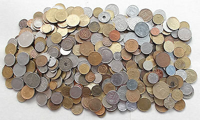 WORLD / FOREIGN - 1.8Kg of Mixed World Coins - 1800g Job Lot  - No British (L47)