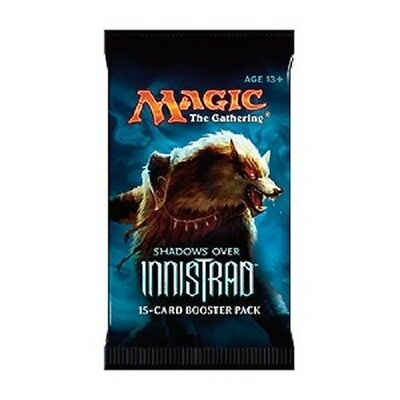 Magic the Gathering 10 Booster Schatten über Innistrad deutsch Neue Edition.
