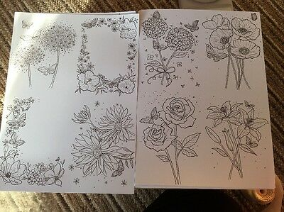 Hunkydory Flower And Butterfly Card