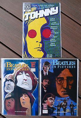 Beatles Experience In Pictures Johnny, 1991-92, VF/NM, $55 value AT COVER PRICE!
