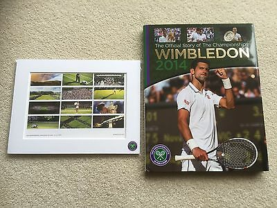 The Official Wimbledon Annual 2014 NEW - by Paul Newman