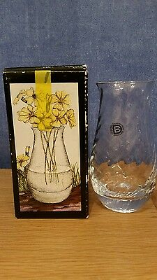 Dartington Le Petit Vase FT236 Boxed New & Unused with sticker