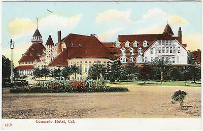 CORONADO HOTEL - California - San Diego Bay - USA - c1900s era