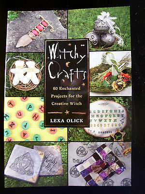 Brand New! Witchy Crafts 60 Enchanted Hnandmade Projects Witchcraft Wicca Pagan