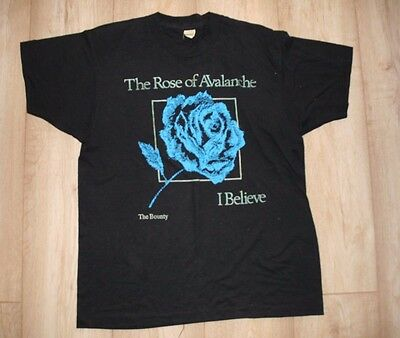 The Rose of Avalanche T Shirt - Size Large - The Bounty/I Believe
