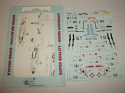 SSI Super Scale International 1/72 P-51D Mustang 72-149