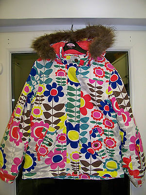 Girls Boden ski jacket coat 9-10