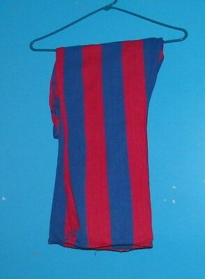 MOD HIPPIES ROCK n ROLL   AUTHENTIC vintage 1960's RED & BLUE stripe jean pants