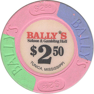 Bally's Casino - $2.50 Casino Chip