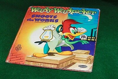 WOODY WOODPECKER book SHOOTS the WORKS,  authorized edition