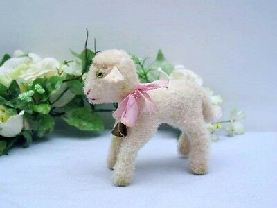 STEIFF  LAMB LAMBY, 10 cm  with chest tag