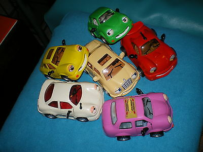 the CHEVRON CARS ,lot of 6 PREOWNED GOOD CONDITION