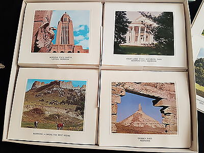 Vintage Nebraska Note Cards Bright America Photos Arbor Lodge Chimney Rock Capit