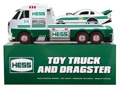 2016 Hess Toy Truck And Dragster N.i.b.