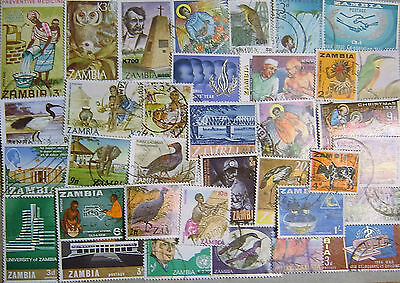 Zambia 50 Different Used