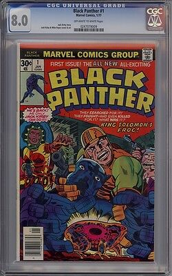 Black Panther #1 - CGC Graded 8.0
