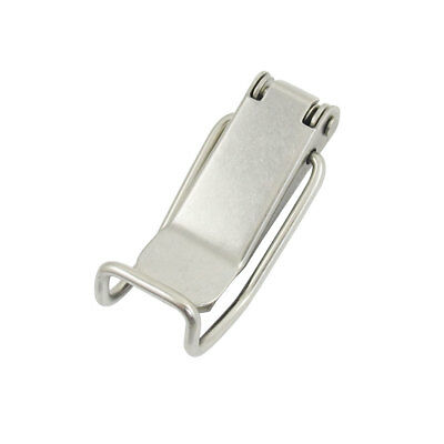 """Drawer Closet Hardware 2.7"""" Long Stainless Steel Toggle Latch Catch"""