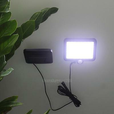 56-LED Outdoor Solar Powered Motion Sensor Light Garden Security Lamp Waterproof